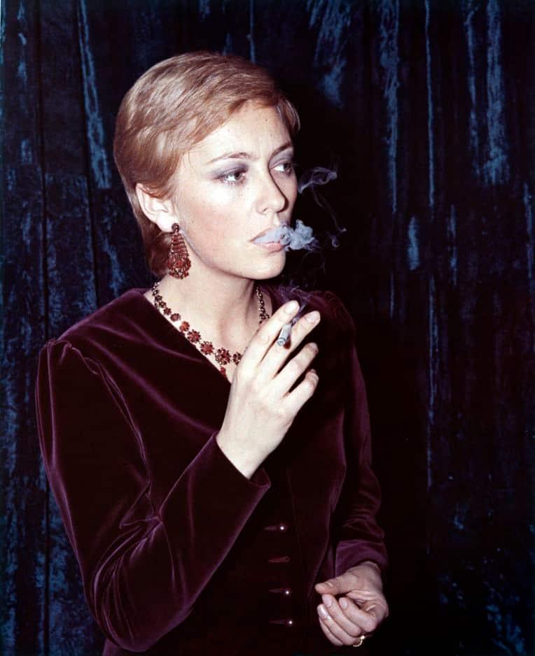 1970. Comme une actrice de cinéma