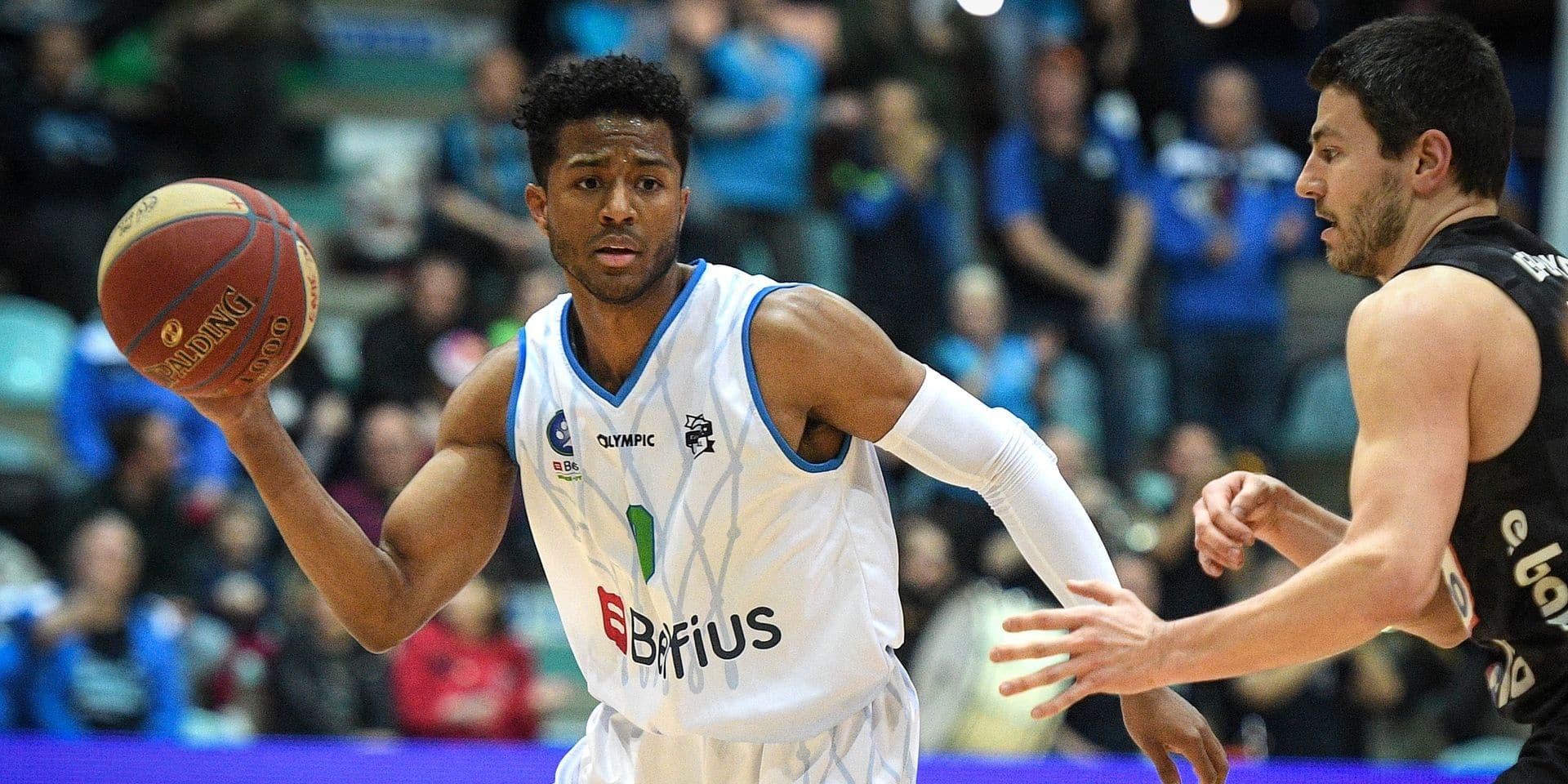 Arik Smith prolonge pour une saison à Mons-Hainaut