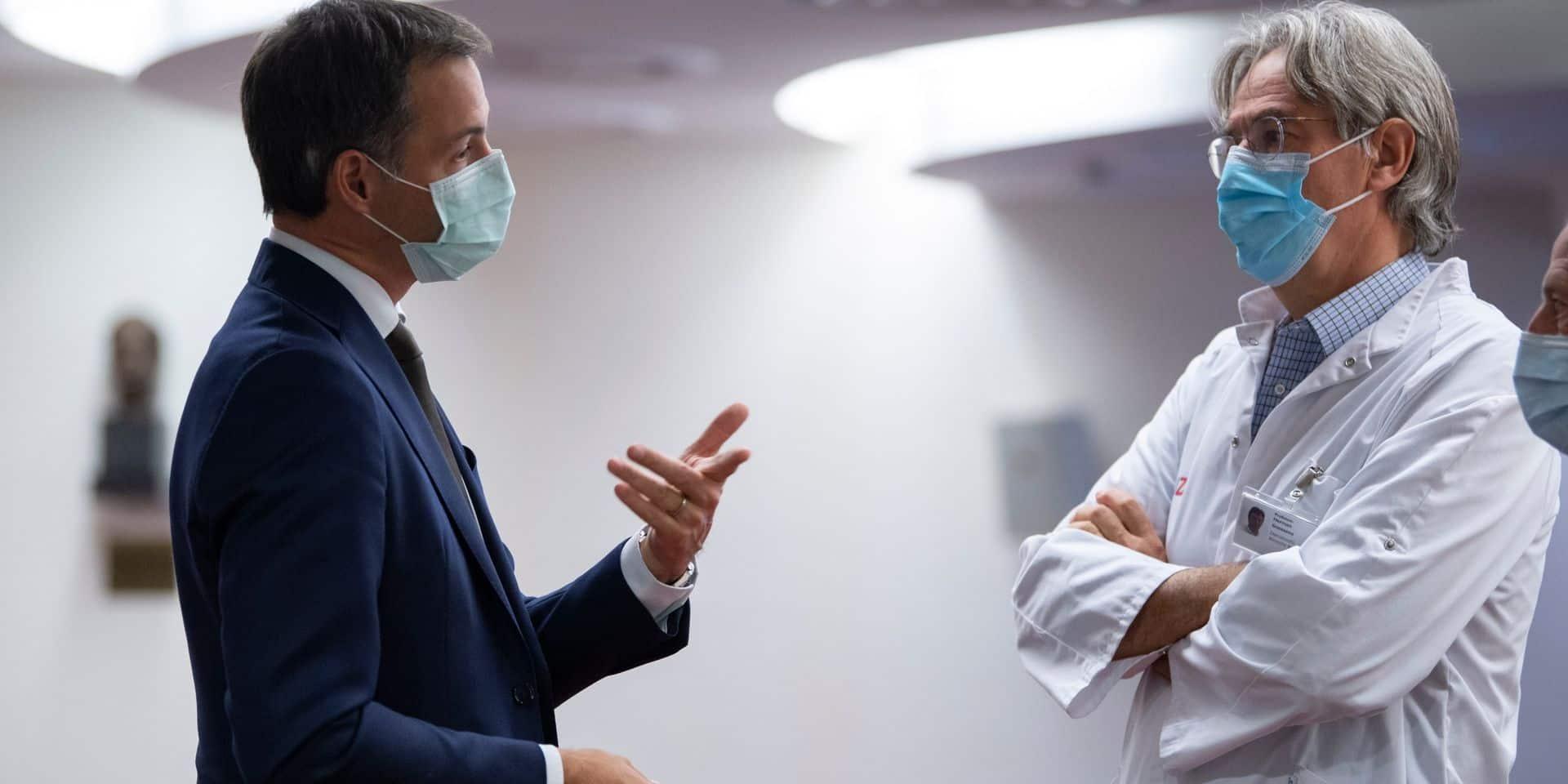 Herman Goossens annonce que son nouveau système de tests salivaires rapides contre le Covid est prêt