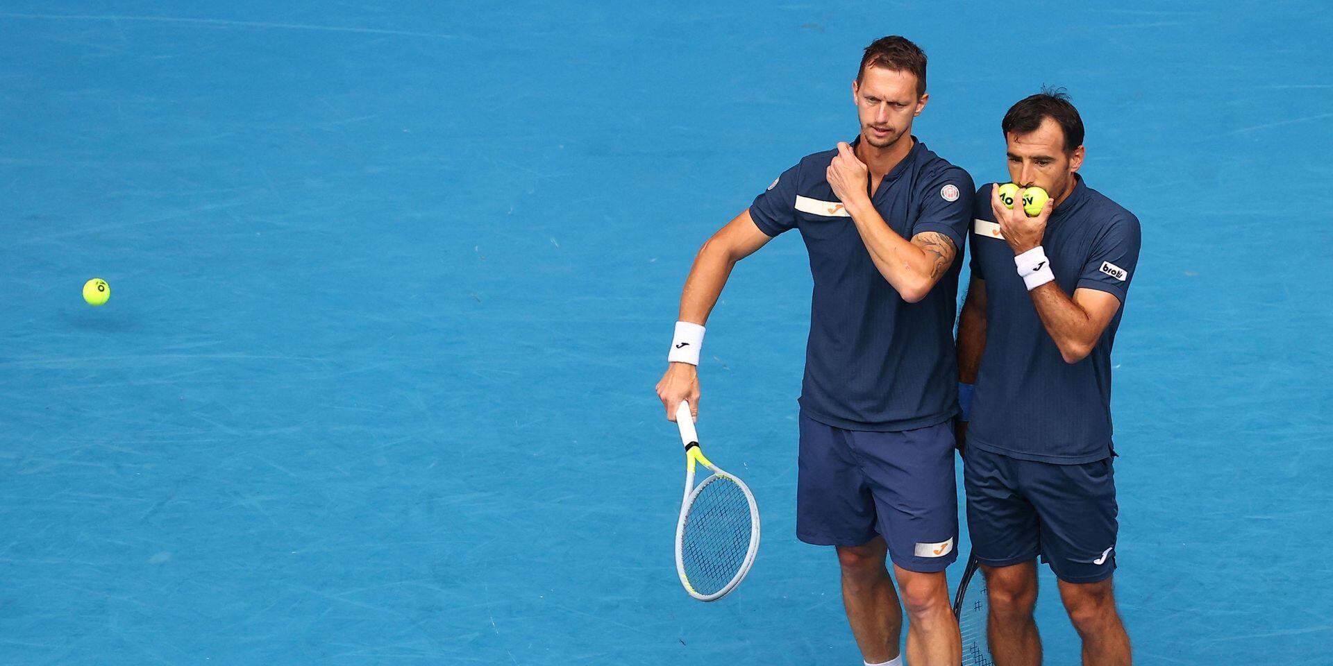Open d'Australie : Ivan Dodig et Filip Polasek s'imposent et privent Rajeev Ram et Joe Salisbury d'un doublé