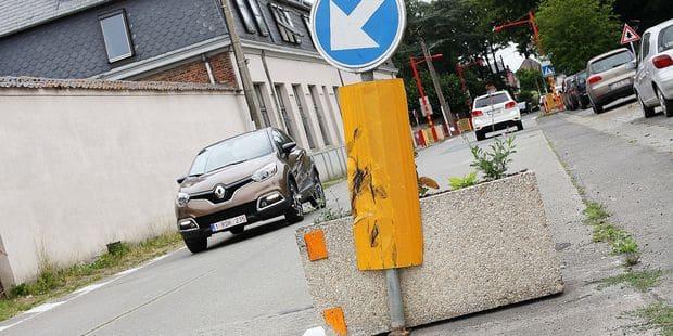 Brugelette : Des chicanes qui ne sont pas sans danger - La DH