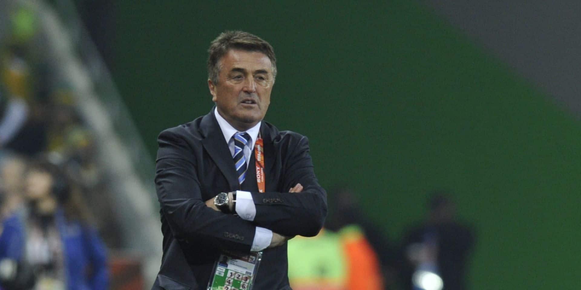 Radomir Antic, ancien coach de l'Atlético Madrid et sélectionneur serbe, est décédé