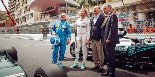 Les Rosberg père et fils en piste