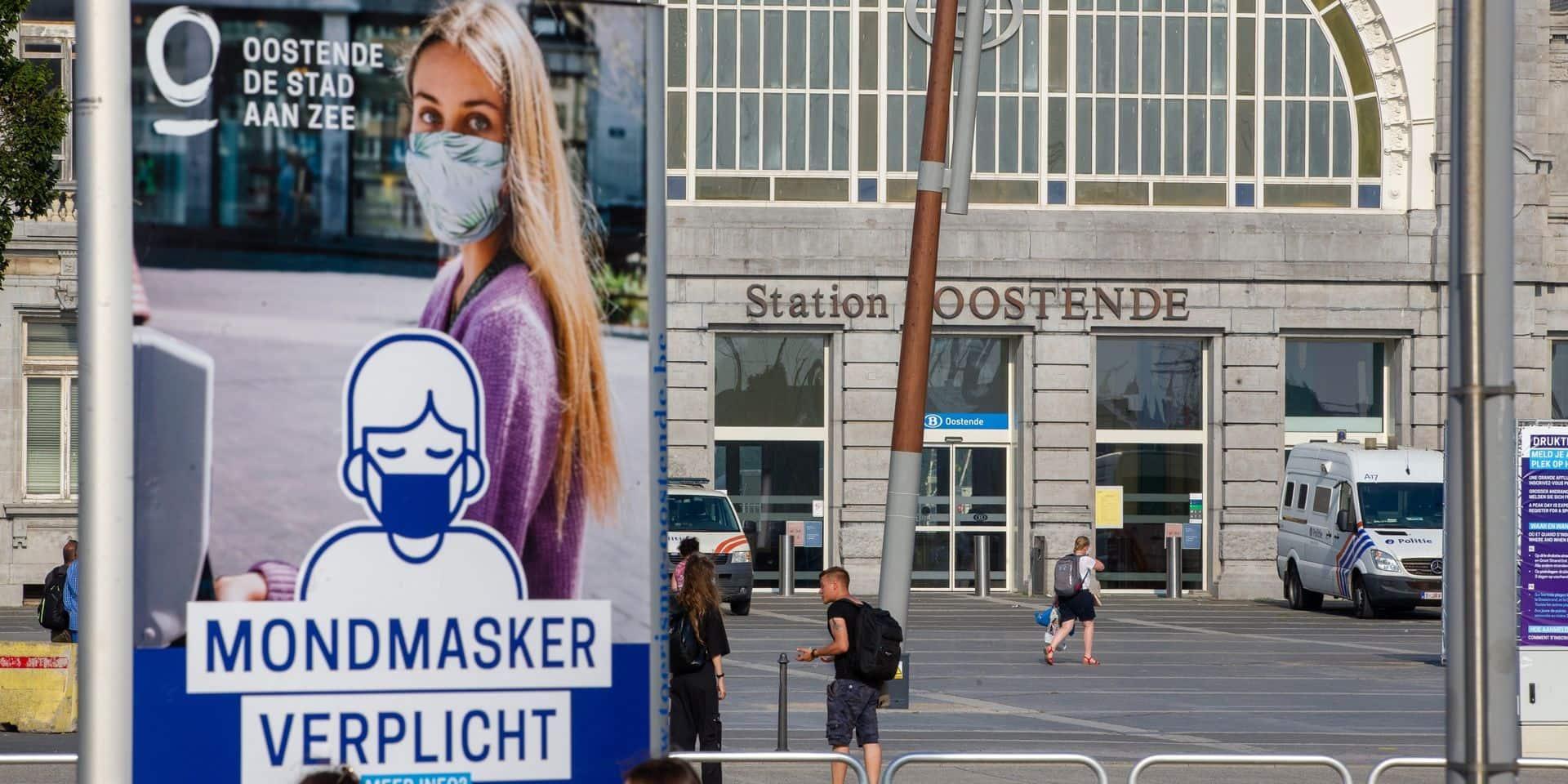 Une marche contre le racisme à Ostende, en réponse à une marche contre l'impunité