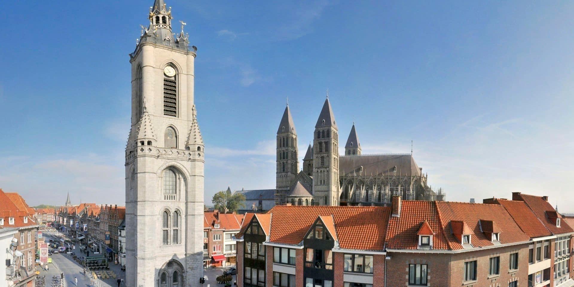 Tournai: le Beffroi fermé pour minimum trois mois !