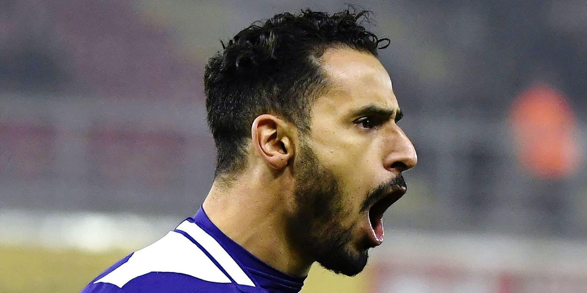 """Nacer Chadli avait toujours rêvé d'être un footballeur professionnel: """"Tellement fort que les grands le coinçaient dans le grillage"""""""