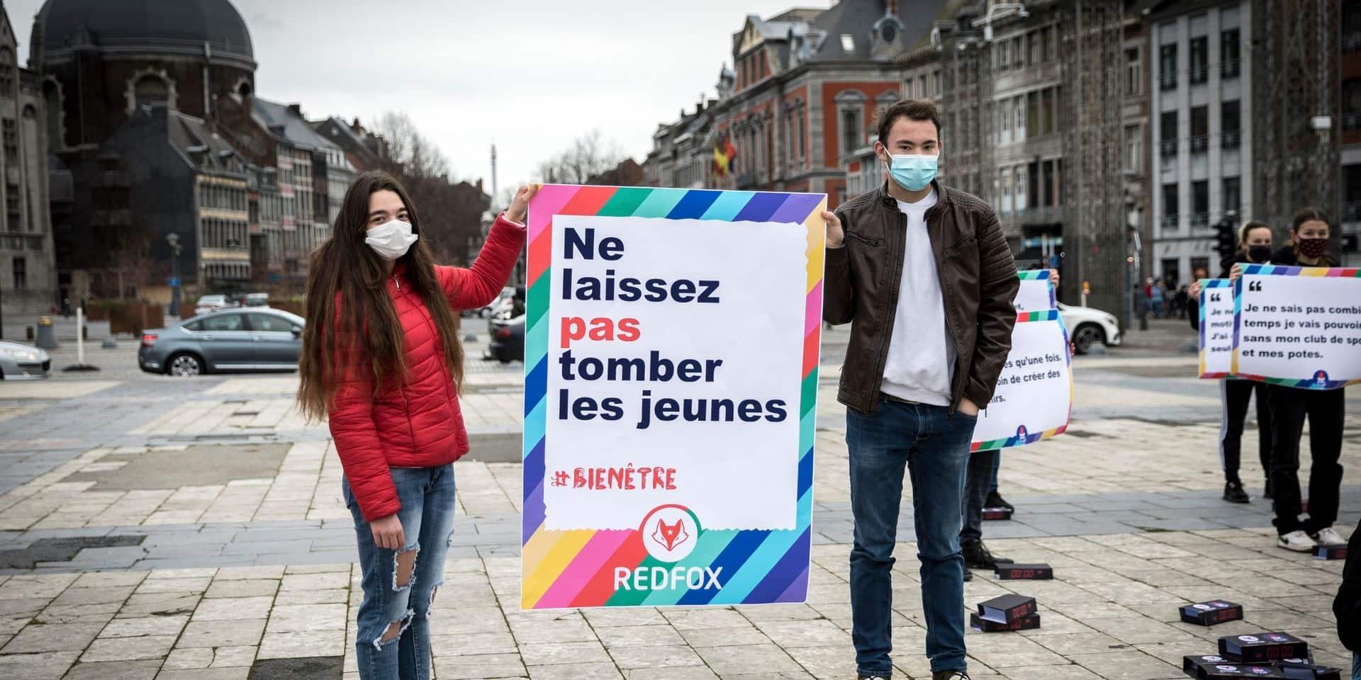 """Liège : """"Ne laissez pas tomber les jeunes !"""""""