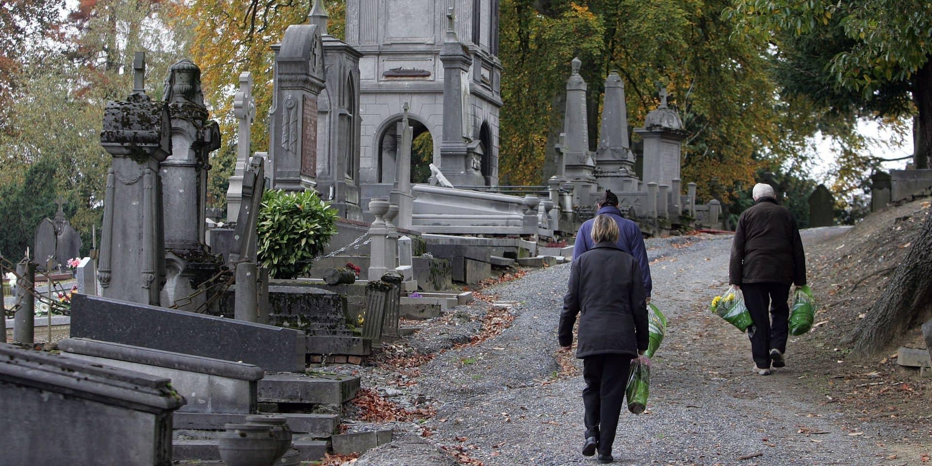Boussu: interpellé par la police aux abords d'un cimetière