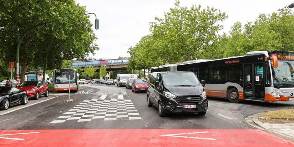 Anderlecht : le réaménagement du boulevard Sylvain Dupuis accuse du retard