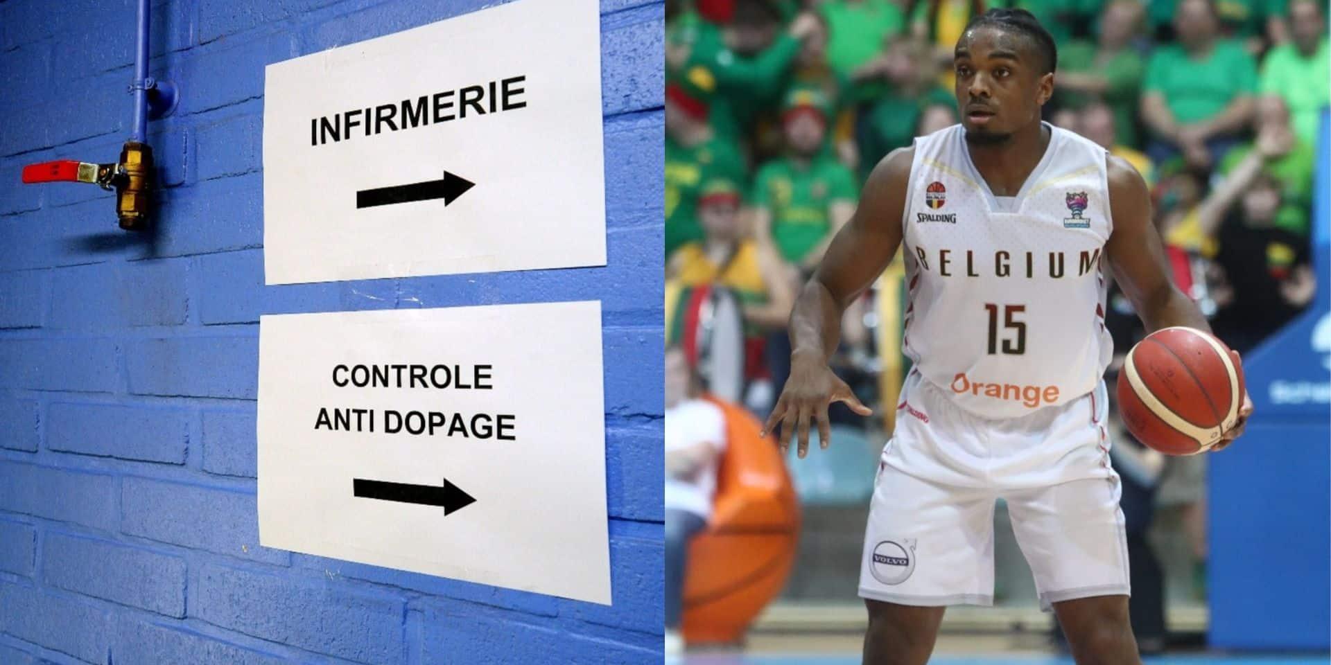 Un contrôle antidopage, ciblé sur des joueurs même pas présents dans la sélection, qui fâche chez les Belgian Lions!
