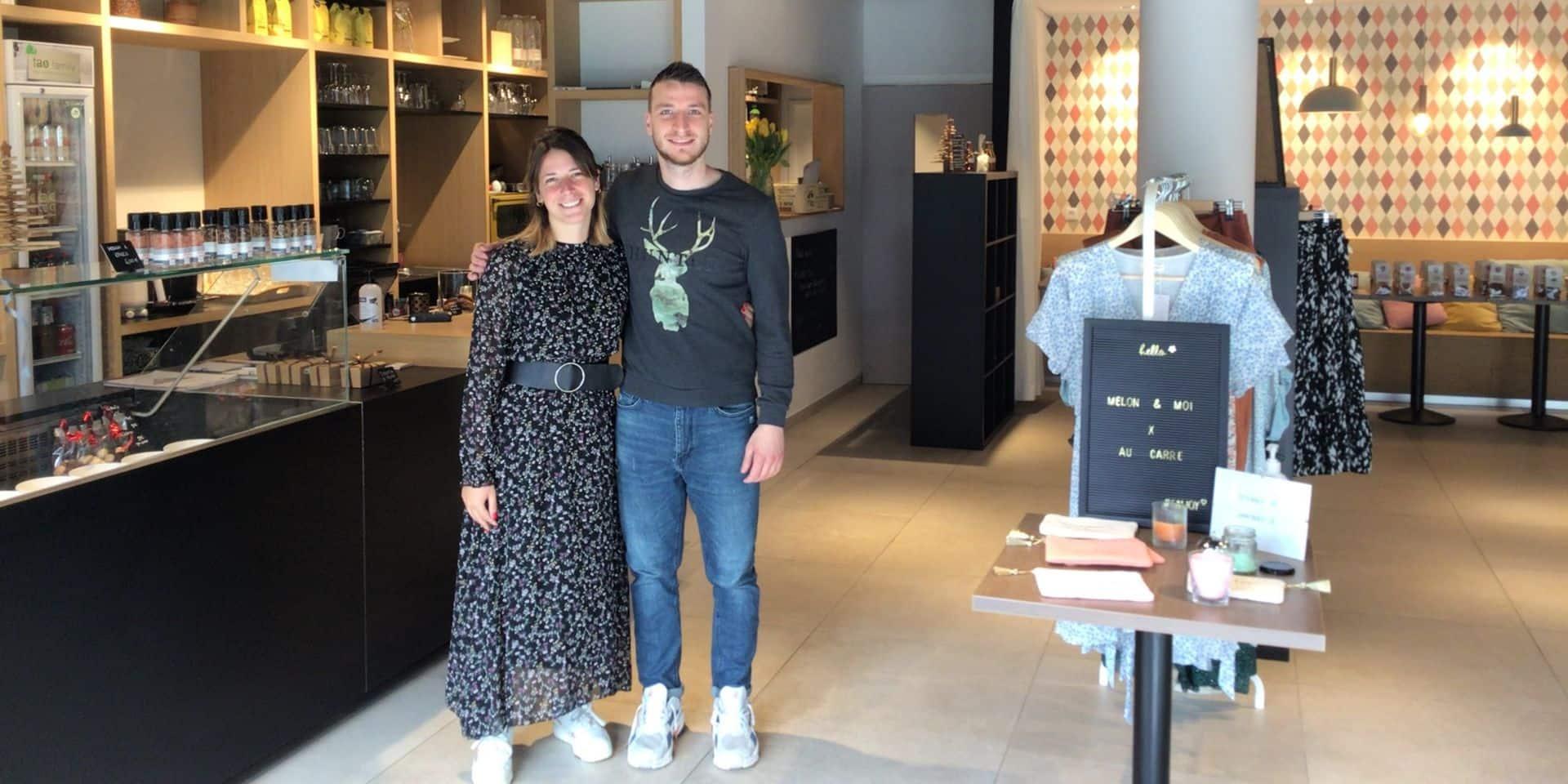 Ce restaurant de Nivelles se reconvertit en boutique de vêtements, le temps de la crise