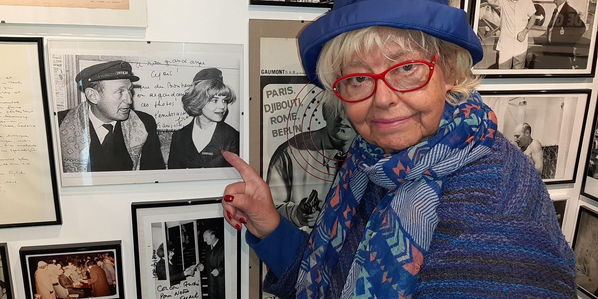 """Françoise Deldick, """"l'ingénue perverse"""", raconte Bourvil"""