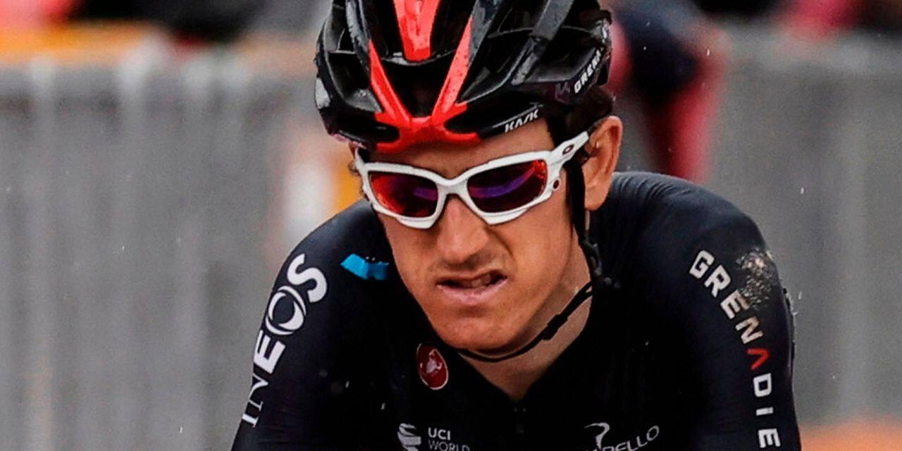 Giro: Geraint Thomas abandonne avant la 4e étape
