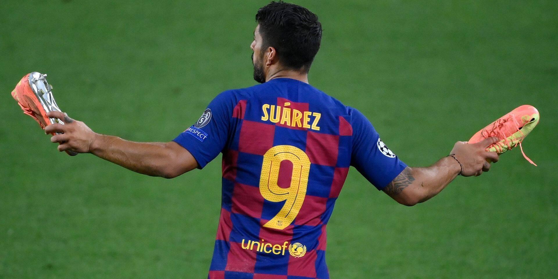 L'Atletico Madrid annonce l'arrivée de Luis Suarez, le dégraissage continue au Barça