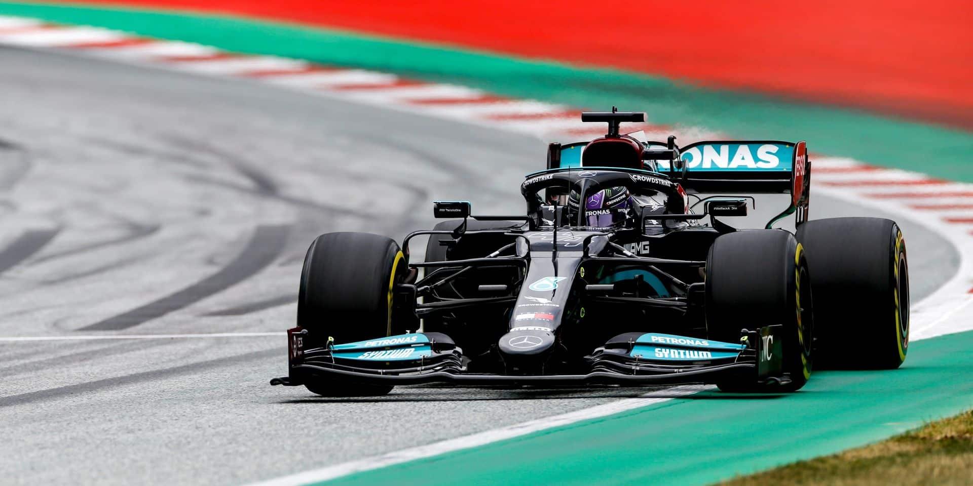 Hamilton prolonge son contrat avec Mercedes de deux saisons jusqu'en 2023