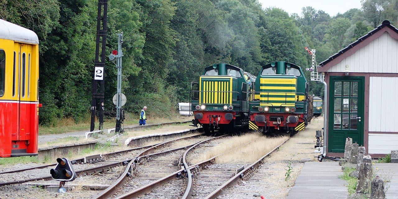 Festival du Chemin de Fer du Bocq : promenade ferroviaire et découvertes professionnelles et culinaires