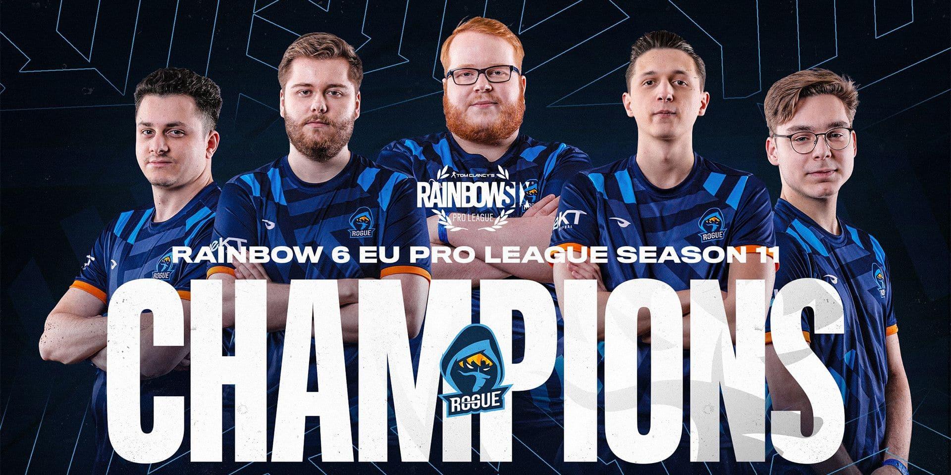 Rainbow Six Pro League : la finale mondiale annulée, Rogue se console avec le titre de champion d'Europe