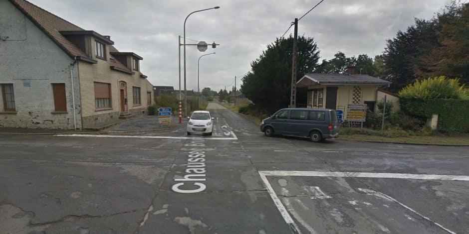 Honnelles: quatre voitures entrent en collision au carrefour du passe-tout outre