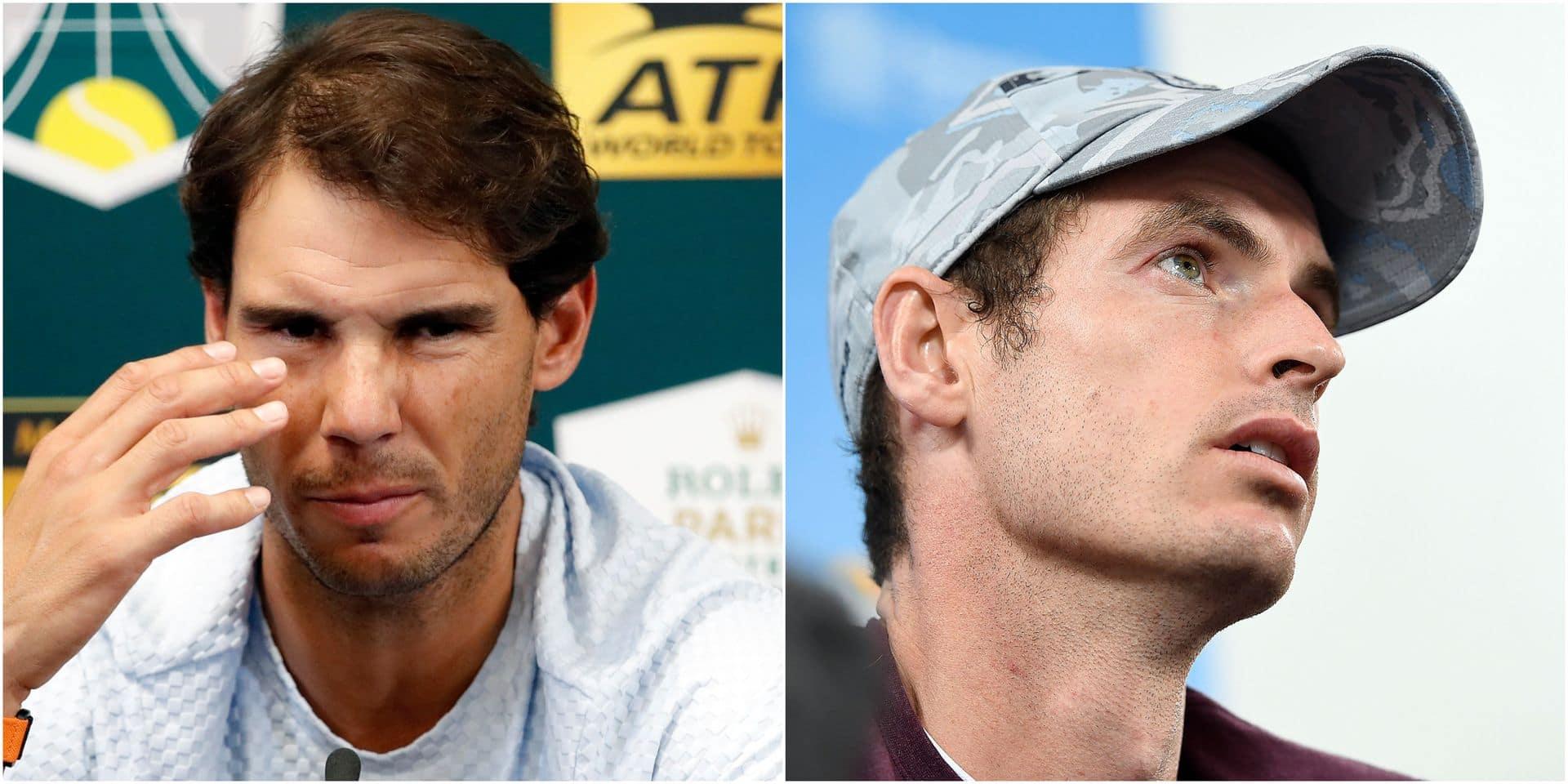 Nadal et Murray de retour pour lancer la saison 2019