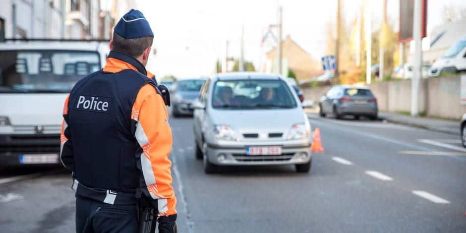 Verviers : 74 véhicules contrôlés par la zone de police Vesdre
