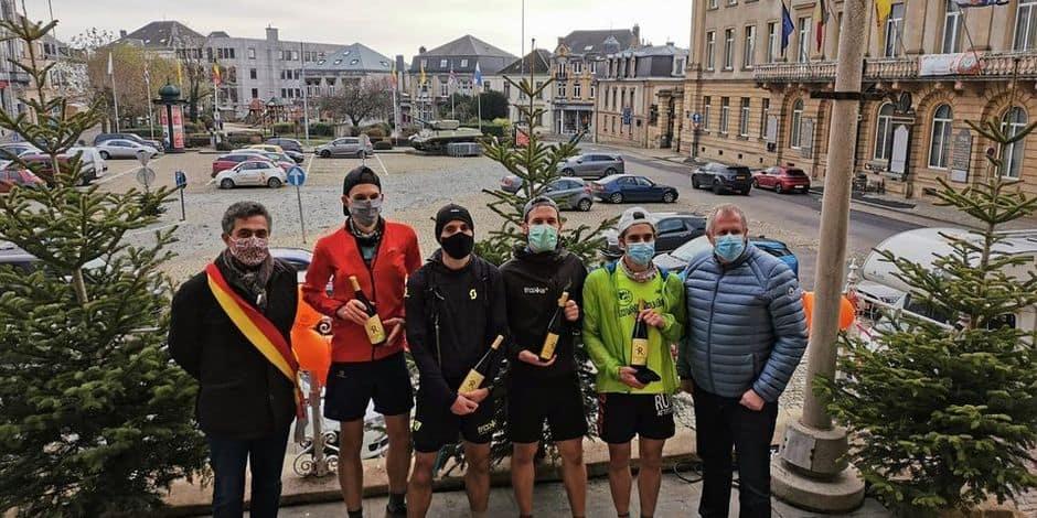 Les 450 km entre Ostende et Arlon en courant en relais: l'Échappée belge a été une réussite