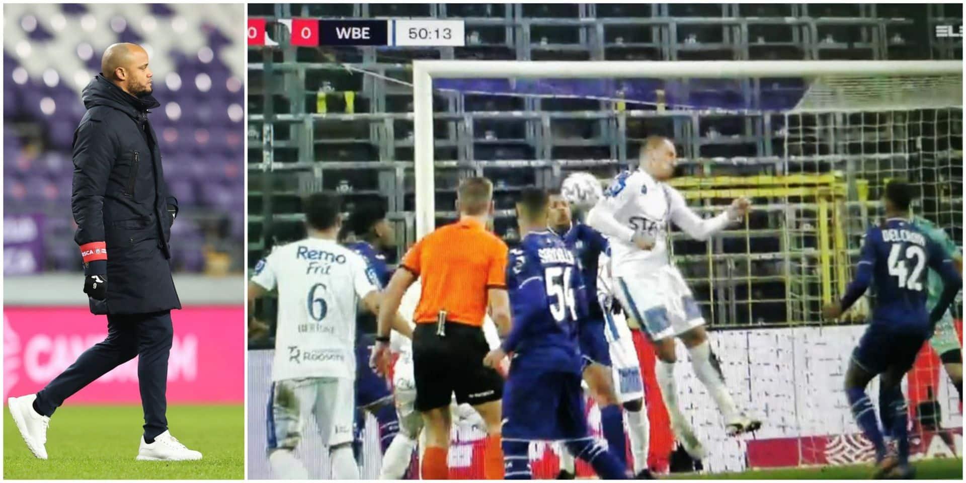 """Vincent Kompany: """"Le penalty? Je n'en parlerai pas"""""""