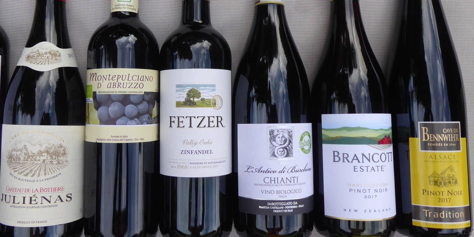Voici où trouver ces vins rouges légers à boire frais