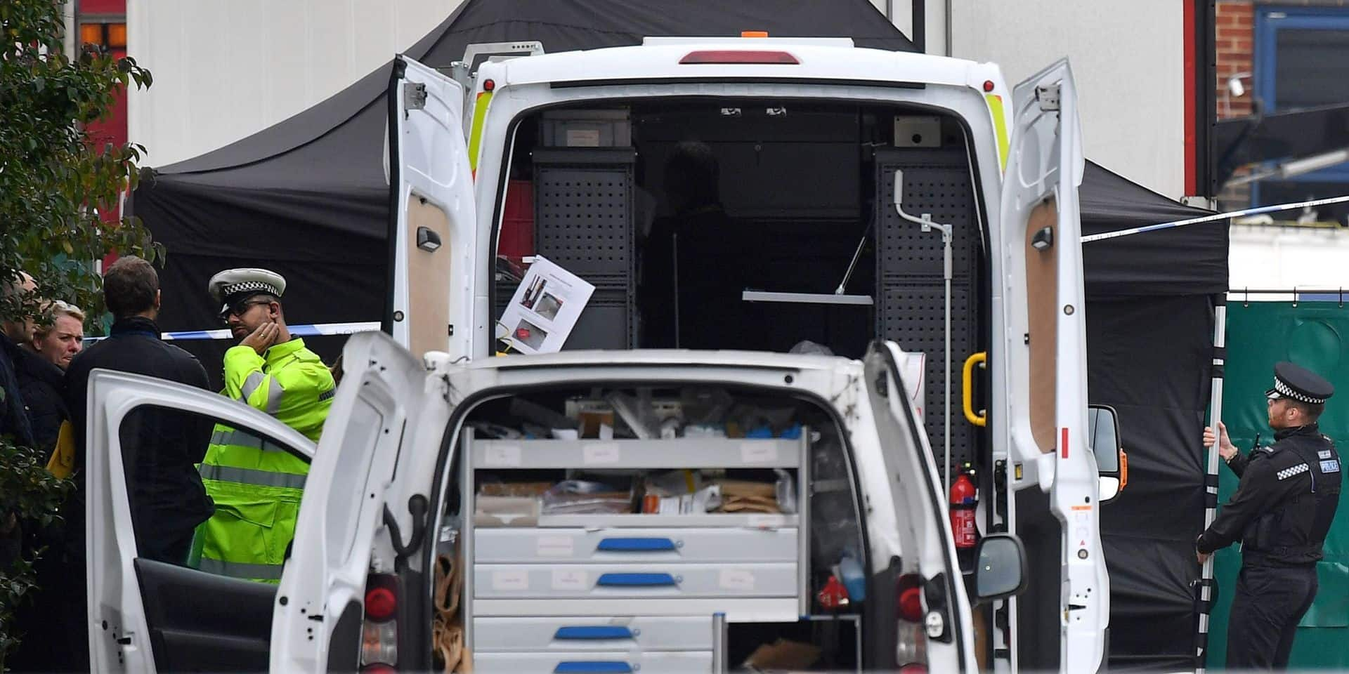 Camion transportant 39 morts en Grande-Bretagne: la nationalité des victimes confirmée