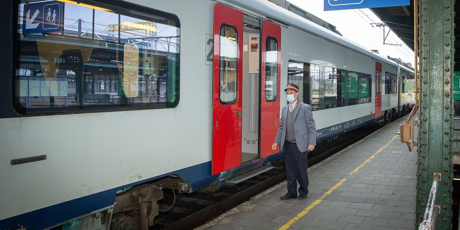 Port du masque: du changement du côté de la SNCB