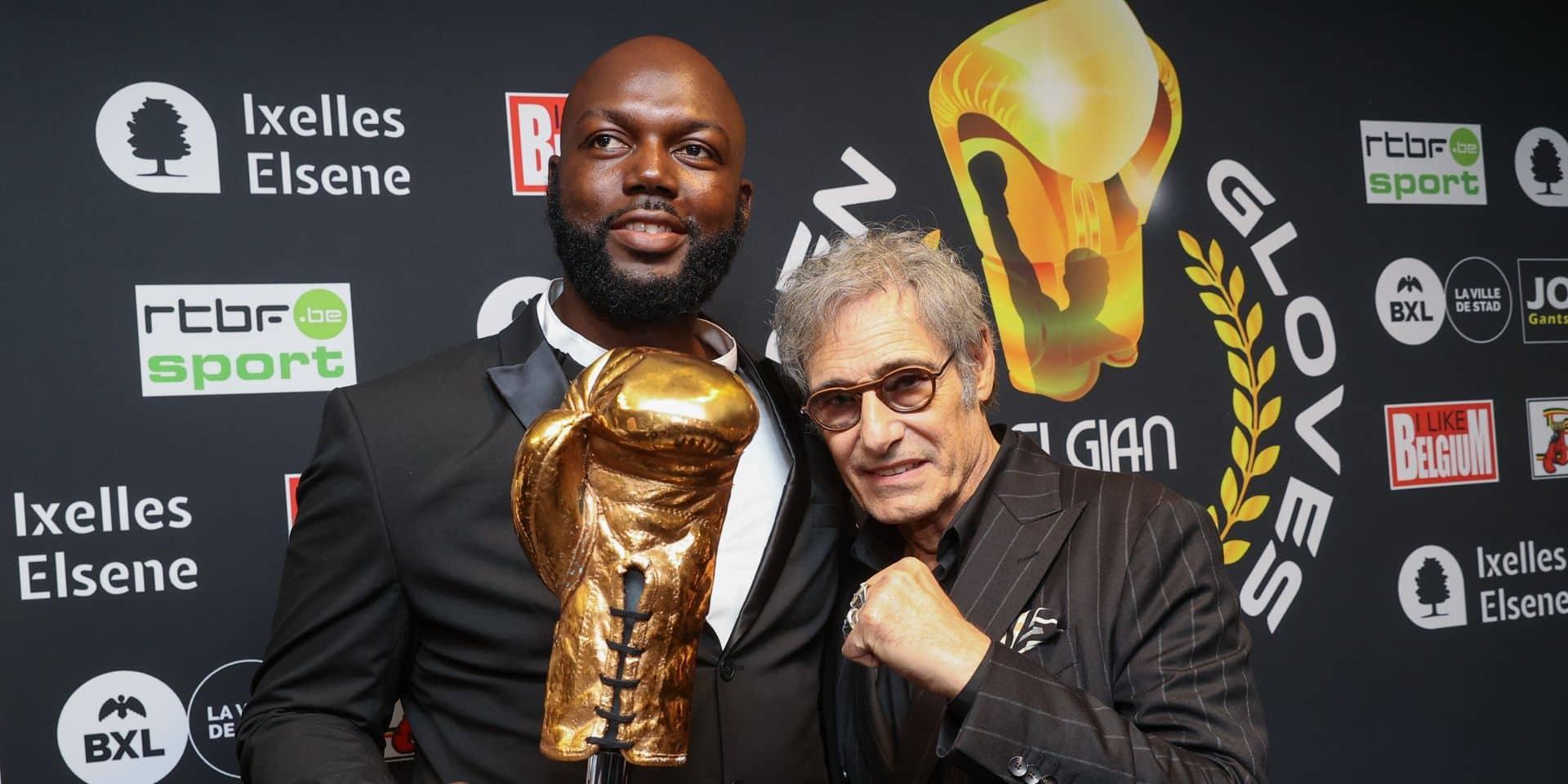 """Lauréat du Gant d'Or, Jack Mulowayi en veut plus: """"J'ai envie de remonter sur le ring le plus vite possible"""""""