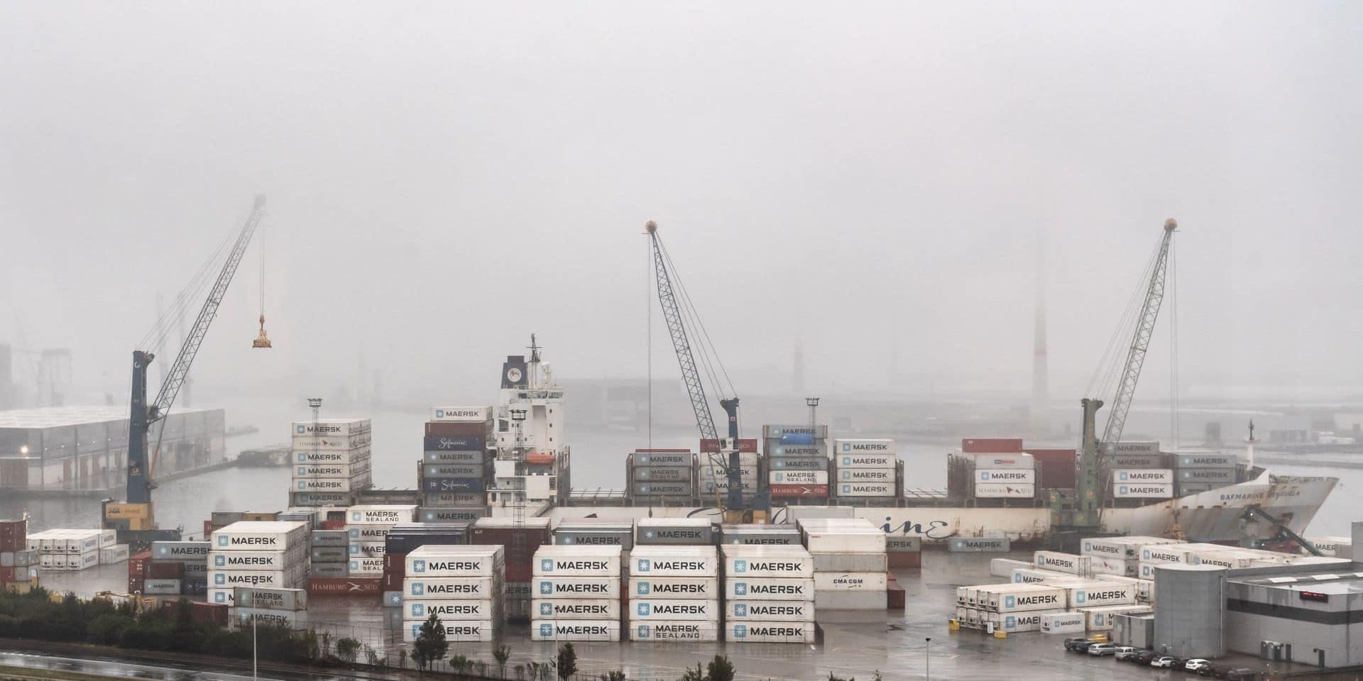 Fusion des ports d'Anvers et de Zeebrugge: le port deviendra le plus grand à conteneurs d'Europe