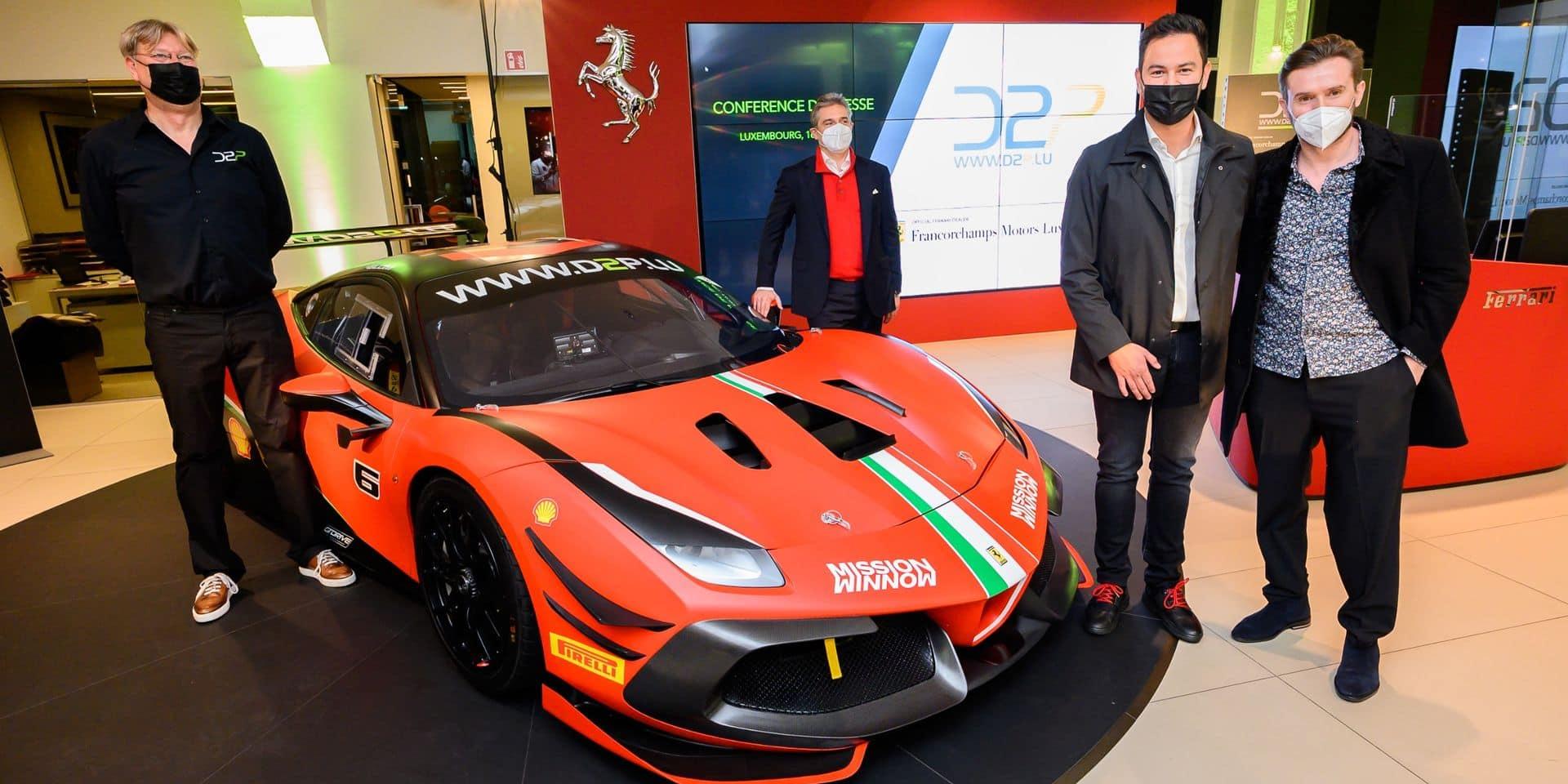 John Wartique en figure de proue de l'offensive D2P en Ferrari Challenge Europe 2021