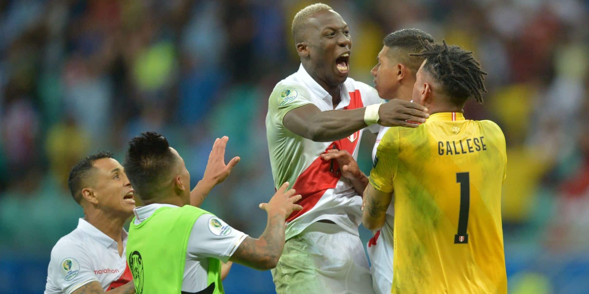 Copa América: le Pérou sort l'Uruguay sur un raté de Suarez