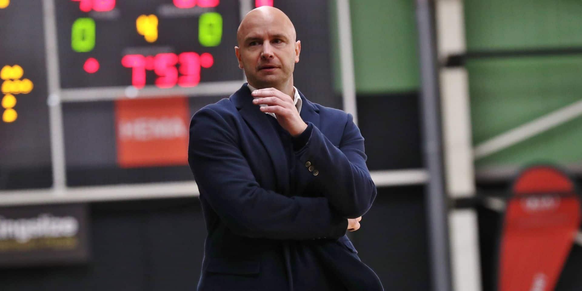 Le coach du Royal Castors Braine prolonge jusqu'en juin... 2025