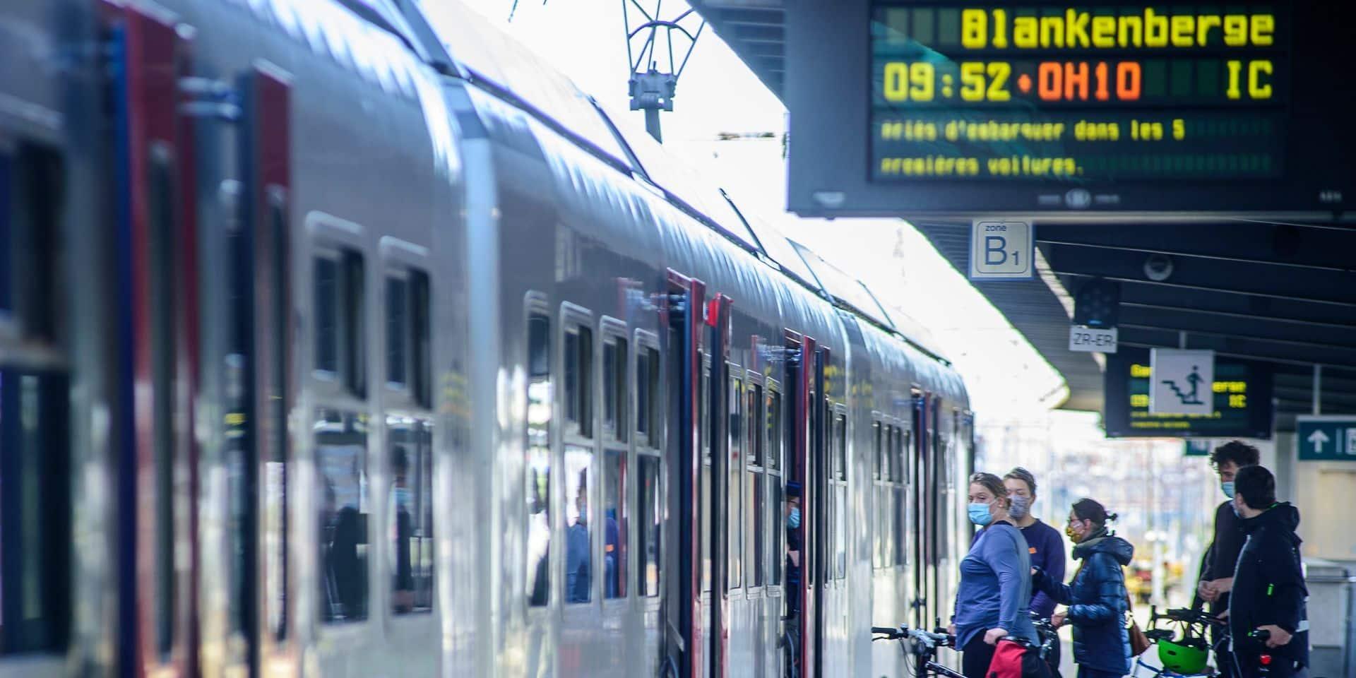 La SNCB lance ses Kust-Express : des trains sans escale vers la Côte