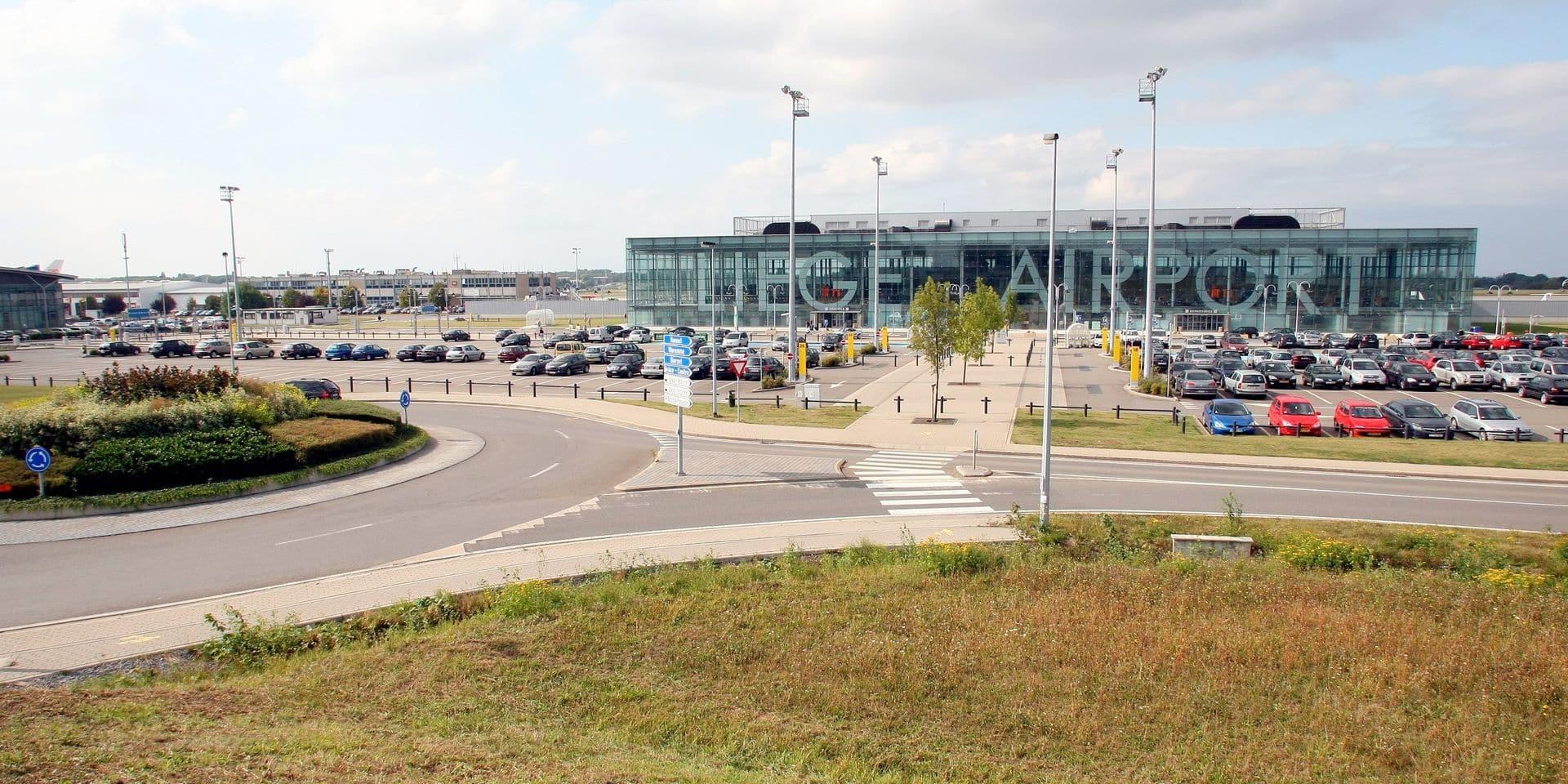 BELGIUM LIEGE BIERSET AIRPORT ILLU