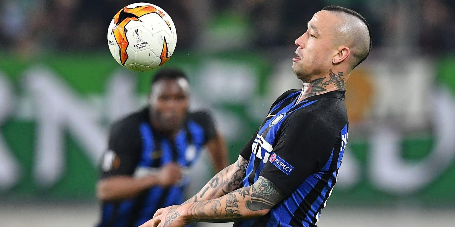Les Belges en Europa League: l'Inter Milan avec Nainggolan s'impose au Rapid Vienne (0-1) en 16es de finale aller