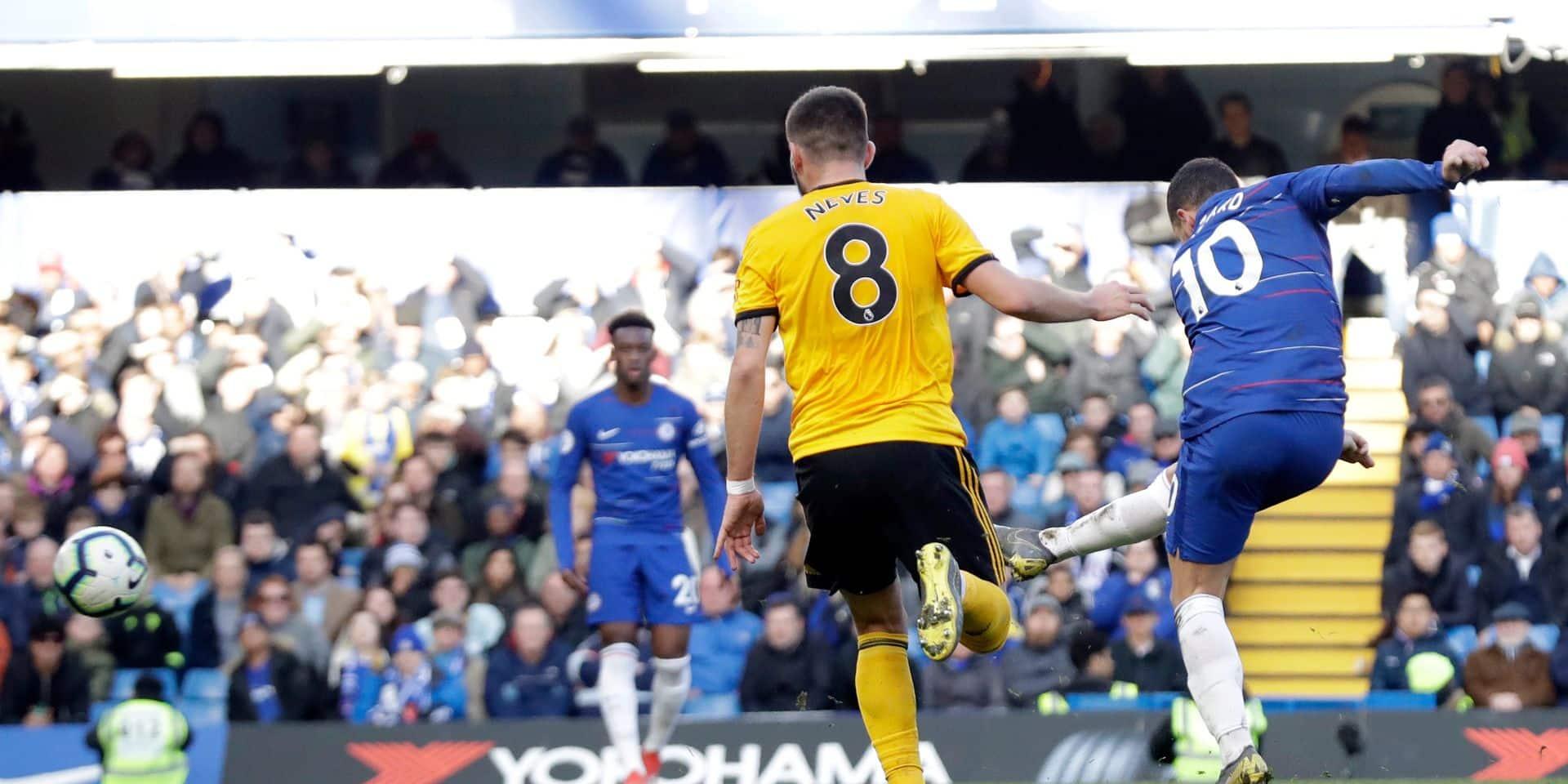 Buteur, Eden Hazard évite la débacle de Chelsea face à Dendoncker