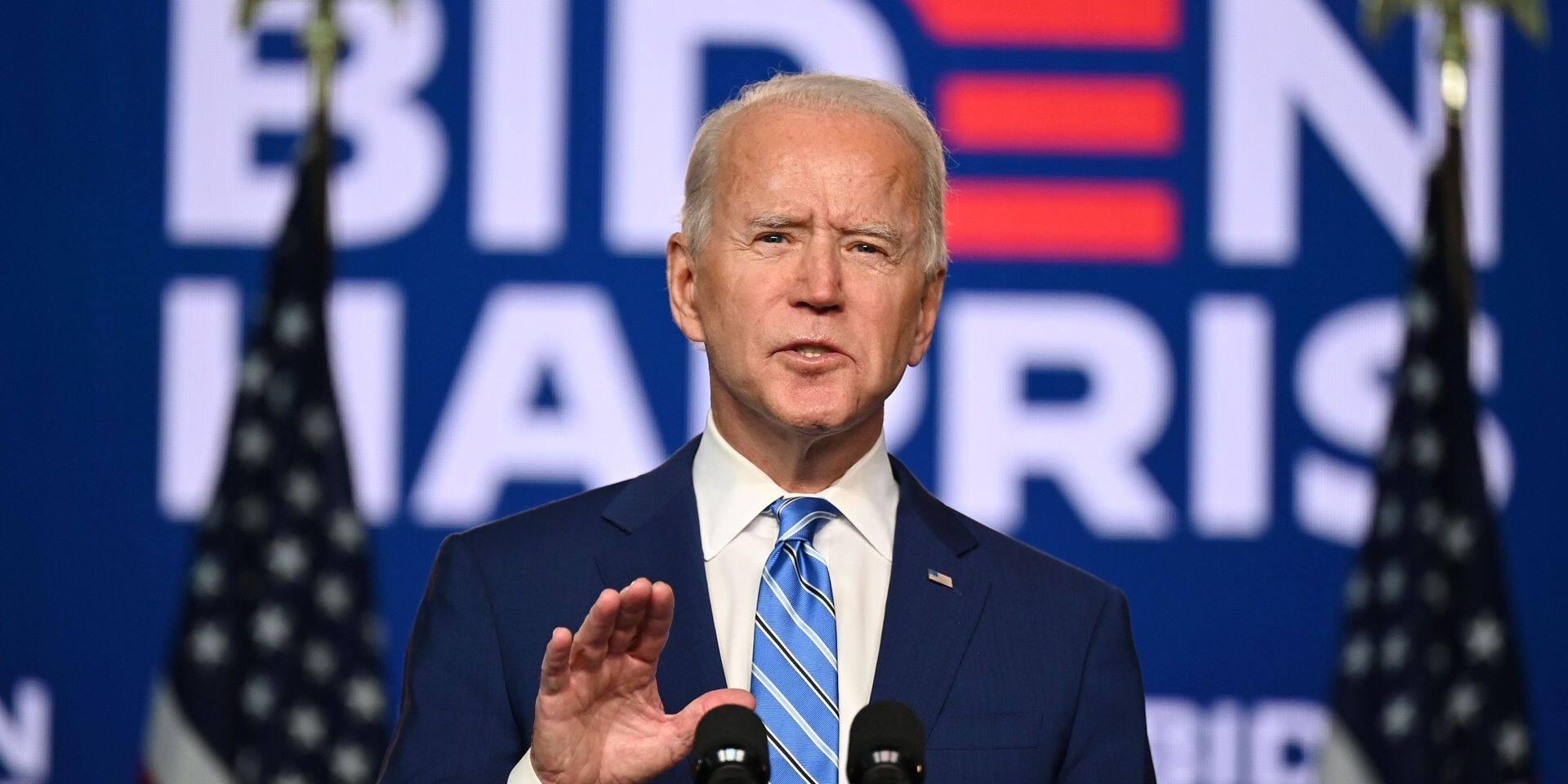 """L'équipe de campagne de Joe Biden reste très confiante: """"Il sera le prochain président des Etats-Unis"""""""