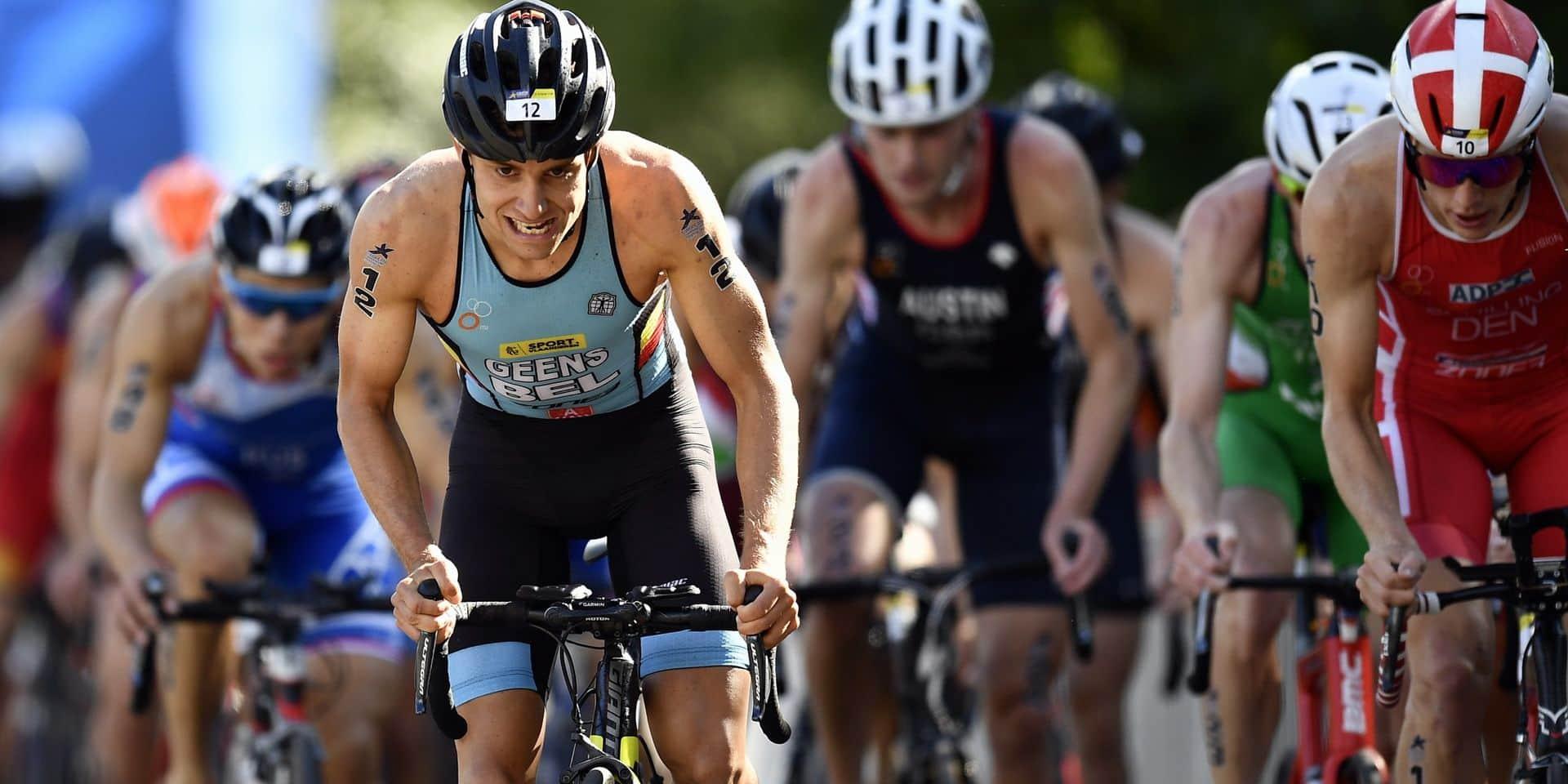 Triathlon : Jelle Geens quatrième au Mondial de Sprint !