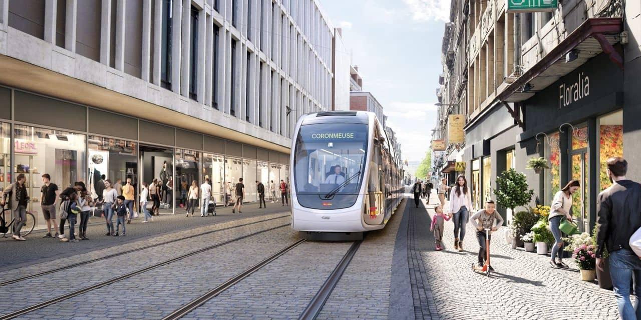 Liège : travaux nocturnes pour le tram