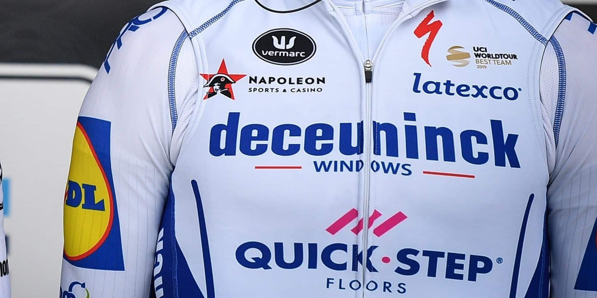Deceuninck-Quick Step roulera sous le nom d'Elegant-Quick Step dimanche