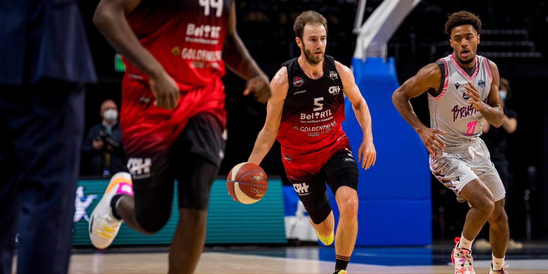 Euromillions Basket League: cinquième victoire de suite pour le Spirou