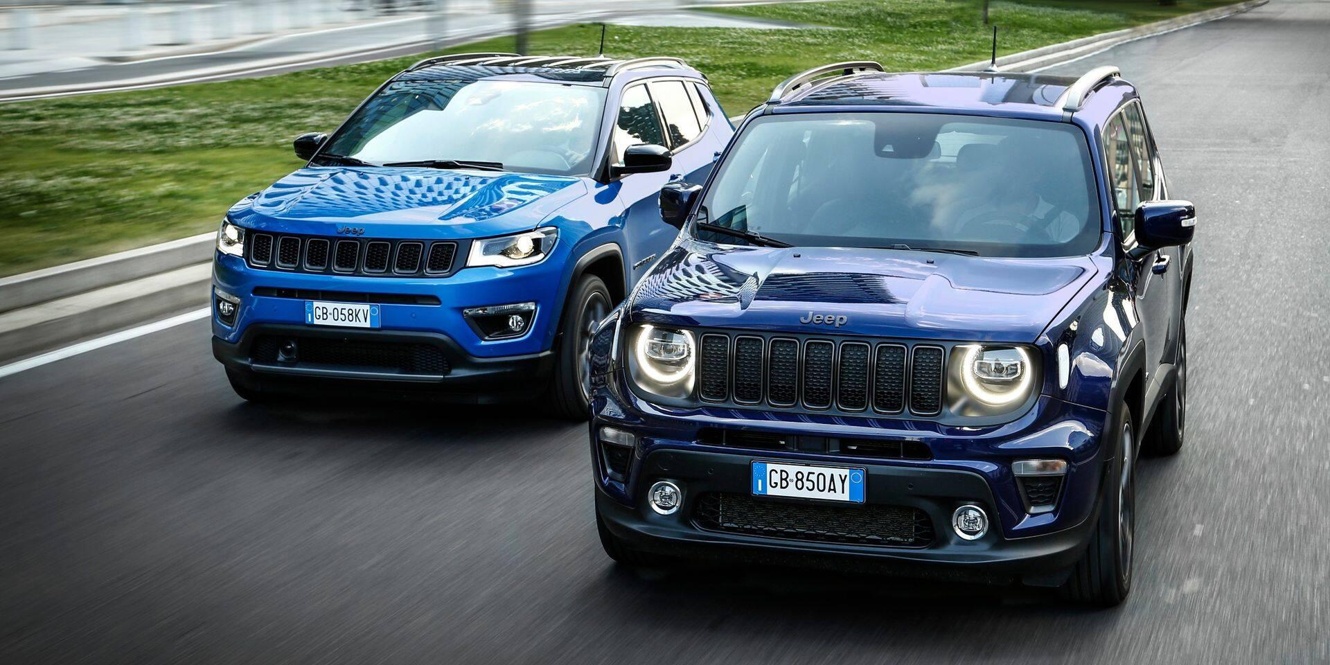 Essai Jeep Renegade et Compass 4xe : Jeep branchées