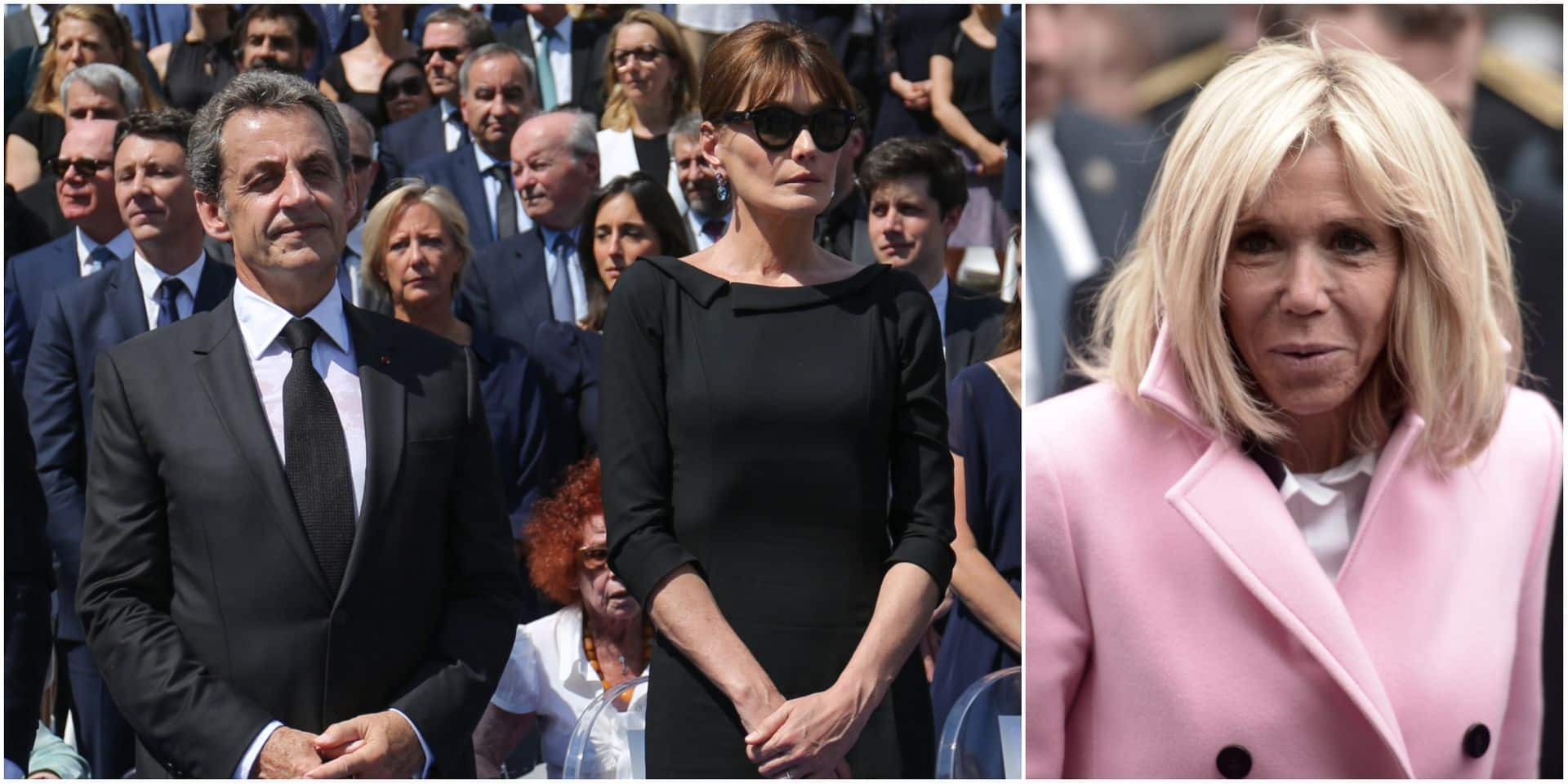Nicolas Sarkozy et Carla Bruni s'attaquent à Brigitte Macron