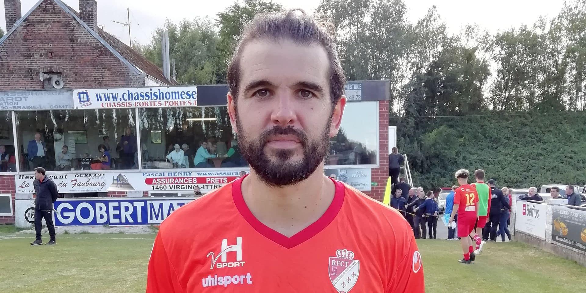 """Frutos de retour à Tournai: """"Malgré mes 37 ans, j'ai encore envie de jouer"""""""