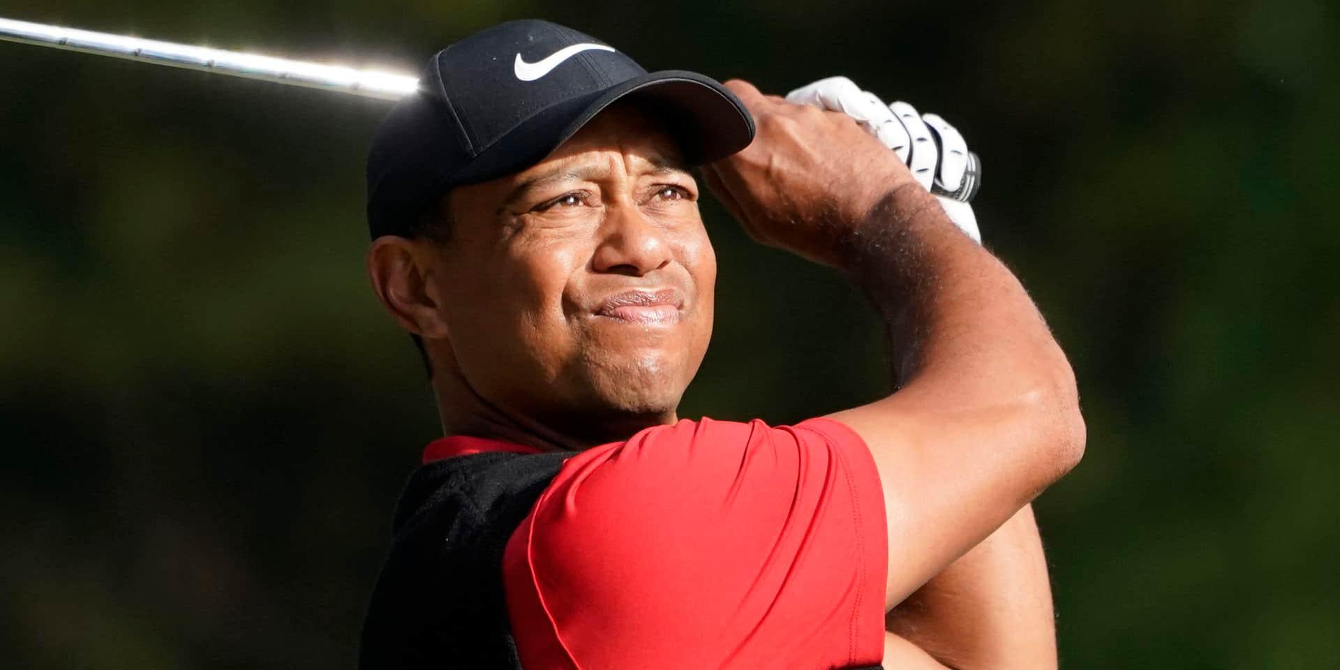 Tiger Woods se sélectionne pour disputer la Presidents Cup