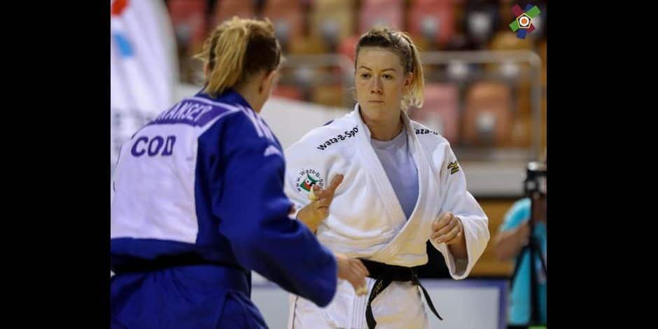 Judo : Sophie Berger éliminée d'emblée à l'Euro