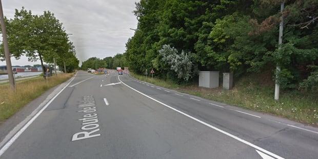 Pommeroeul: Collision entre deux voitures sur la Route de Wallonie, trois blessés - La DH