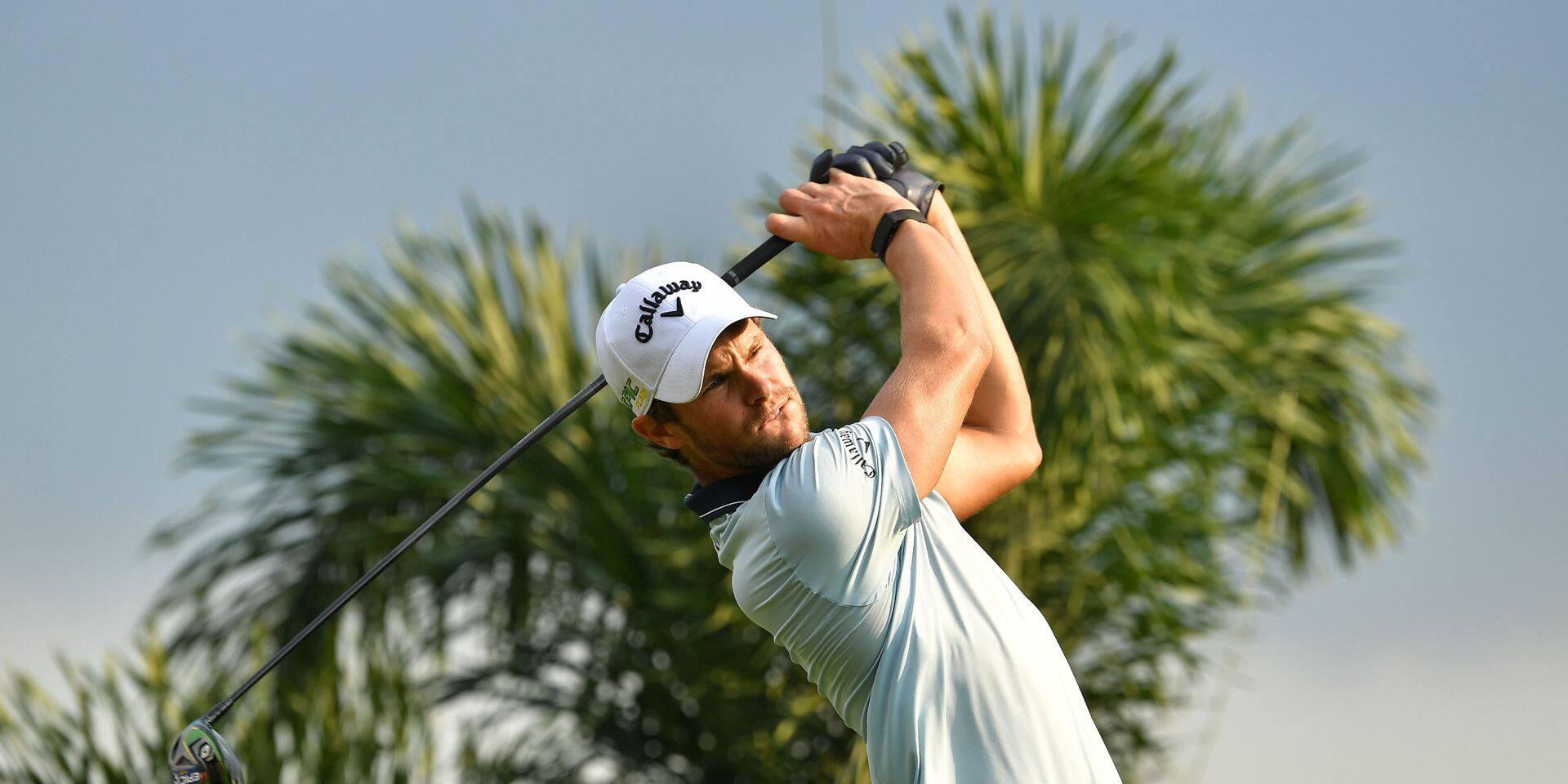 European Tour: Thomas Detry termine en force à la 28e place de l'Open d'Afrique du Sud